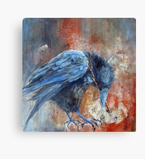 The Court Reporter (from A Murder of Crows Series) Canvas Print