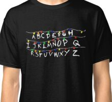 Strange Christmas Light and Weird Things Holiday Art Classic T-Shirt