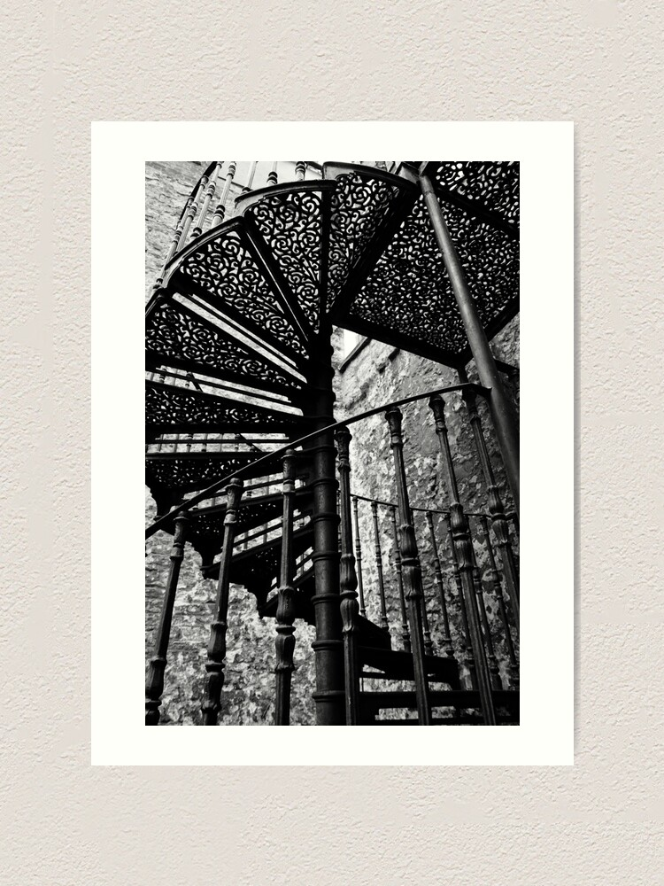 Alternate view of Stair to heaven Art Print