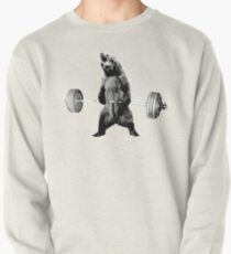 Grizzly Bear Deadlifting Pullover