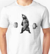 Grizzlybär-Kreuzheben Slim Fit T-Shirt