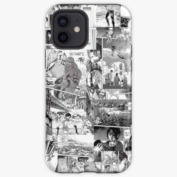 Attack on Titans collage  iPhone Tough Case