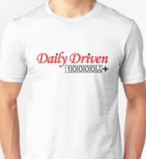 Daily Driven (5) Unisex T-Shirt
