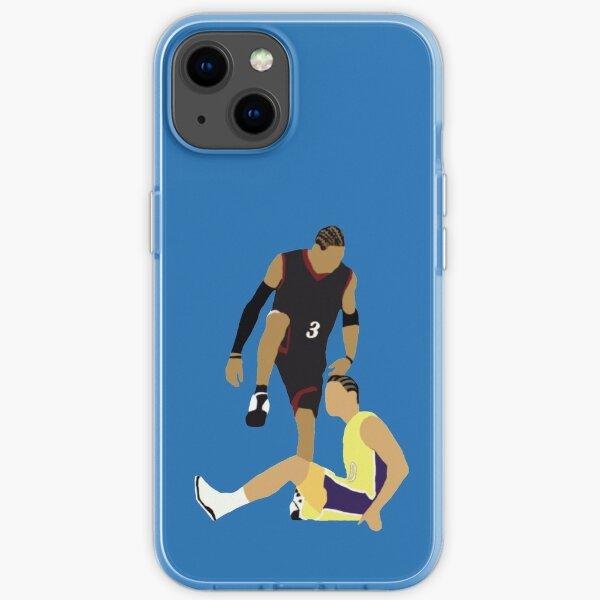 Allen Iverson dépasse Tyronn Lue Coque souple iPhone