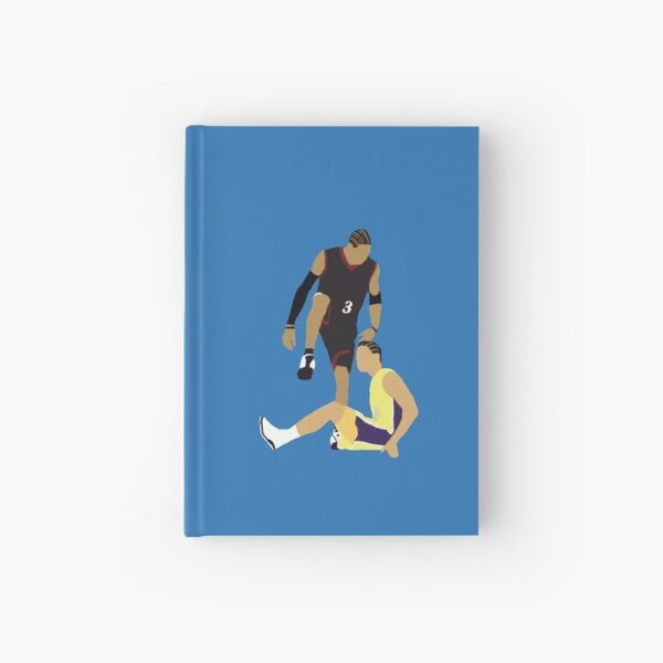 Allen Iverson Steps Over Tyronn Lue  Hardcover Journal