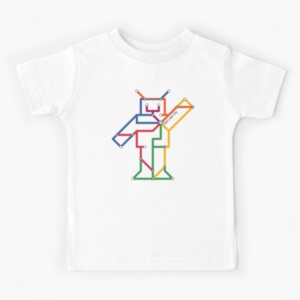 Robot: Salt Lake City Kids T-Shirt