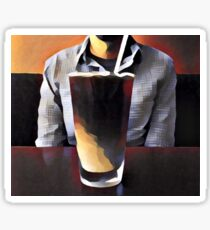 Requiem for Caffeine Sticker