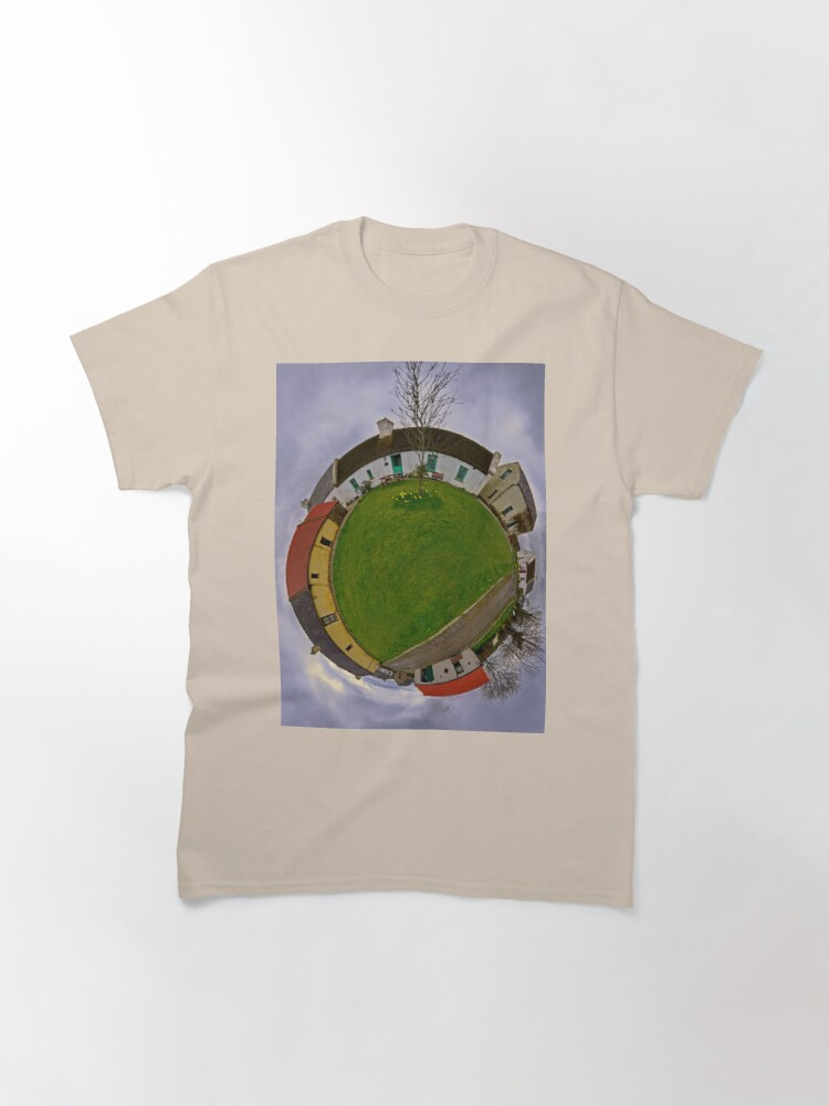 Alternate view of Hanna's Close, County Down (Sky Out) Classic T-Shirt