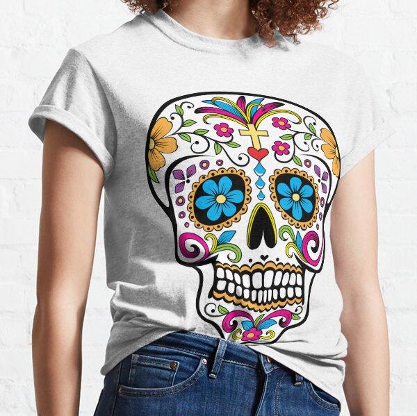Catrina sugar skull Camiseta clásica