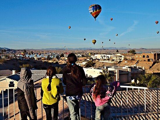 Kids & Balloons by tvlgoddess