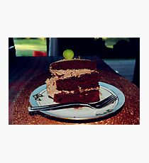 The beets cake Photographic Print