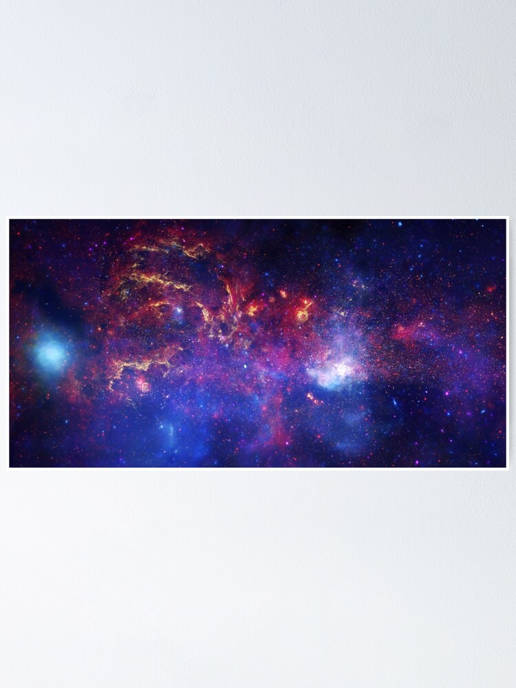 Alternate view of Galaxy Poster