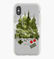 Tetris Gameboy Tribute to Alexey iPhone Case