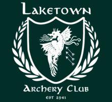 Laketown Archery Club (White) | Unisex T-Shirt