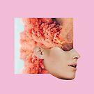 Mind. Explosion. Collection All Pink Coral Orange. Collage ® by creative-bubble