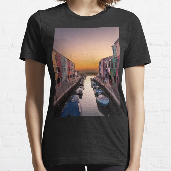 Italy, Burano Italy Essential T-Shirt