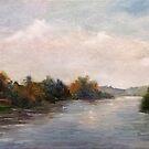 On the Thames by Lynn  Abbott