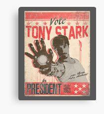 President Stark Canvas Print