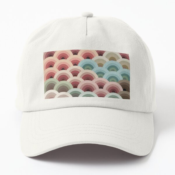 Colourful Wave Dad Hat