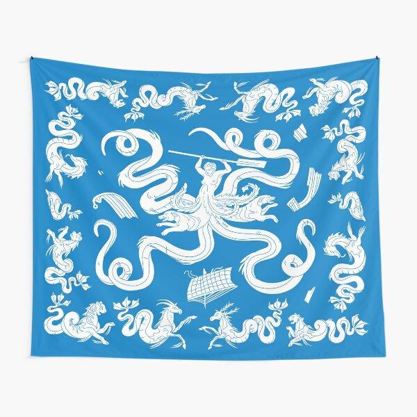 Scylla mosaic - Blue Tapestry