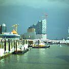 Hamburg Landungsbrücken -Tiltshift (2) by OLIVER W