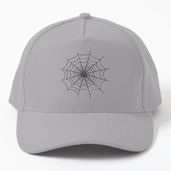 A Simple Spider's Web Baseball Cap