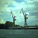 Hamburg Landungsbrücken -Tiltshift (5) by OLIVER W
