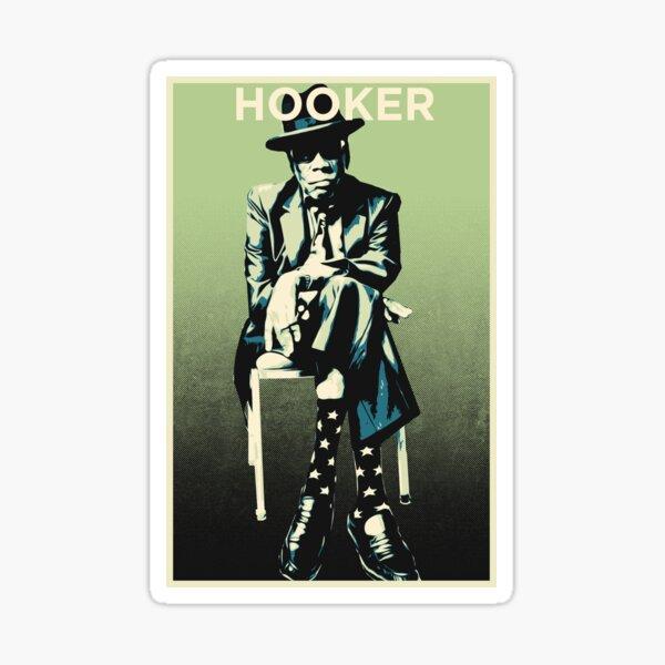 John Lee Hooker - Chillin' Sticker