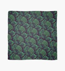 Cactus Floral - Green Scarf