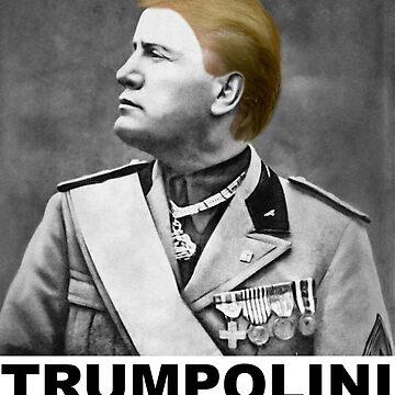Trumpolini - MTGA (Black Text) by ssshirts