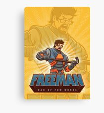 Freeman Canvas Print