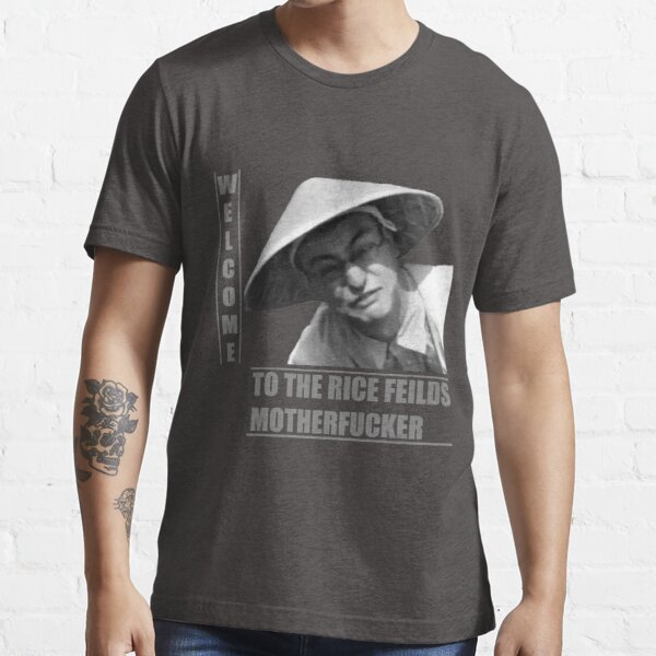 WELCOME TO THE RICE FIELDS Essential T-Shirt