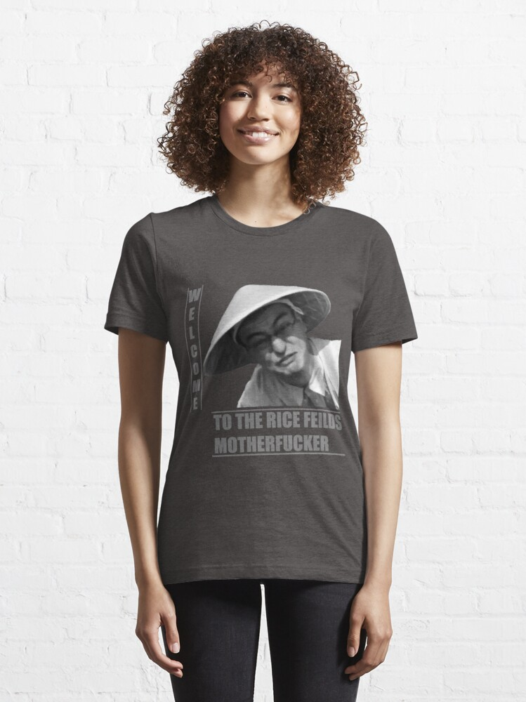 Alternate view of WELCOME TO THE RICE FIELDS Essential T-Shirt