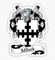 Affleck Sticker