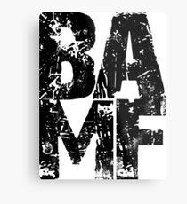 BAMF Metal Print