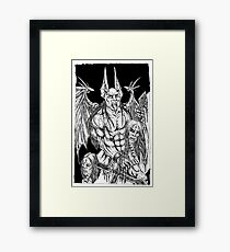 Rage of an Angel Framed Print