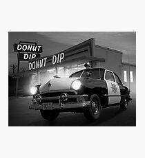 Cops Shoot Unarmed Donut Photographic Print