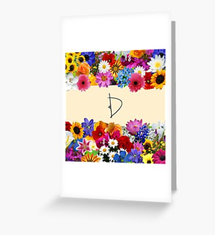 D Greeting Card