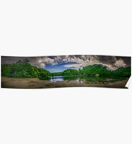 Waitakere River Poster