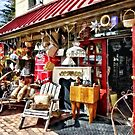 New Hope PA Antique Shop by Susan Savad