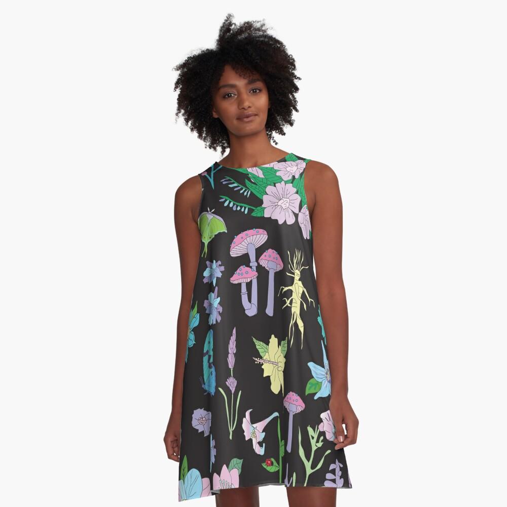 Garden Witch A-Line Dress