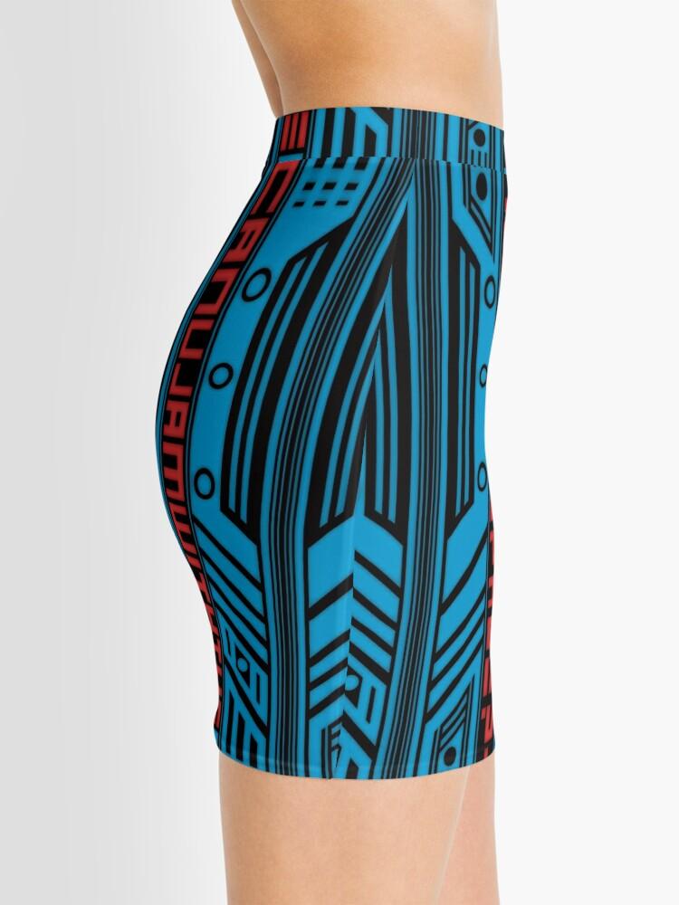 Vista alternativa de Minifalda Patrón de Cyberpunk 7