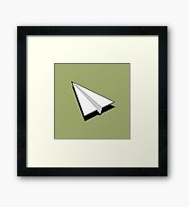 Paper Airplane 1 Framed Print