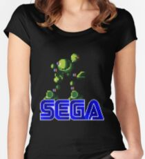 vector man Women's Fitted Scoop T-Shirt