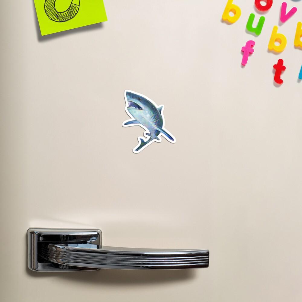 Great White Shark Painting - 2012 Magnet