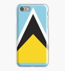 Saint Lucia Flag If you like, please purchase, try a cell phone cover thanks iPhone Case/Skin