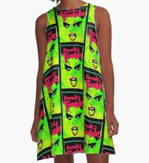 FEMALE TROUBLE Divine Design A-Line Dress