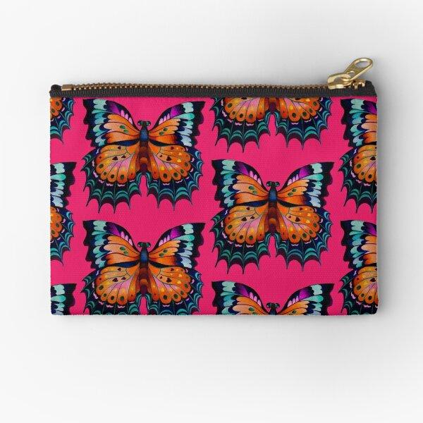 """""""Beauty of Butterfly"""" Zipper Pouch"""