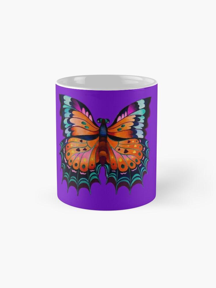 "Alternate view of ""Beauty of Butterfly"" Mug"