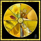 Yellow Colour Wheel by Jane Marin